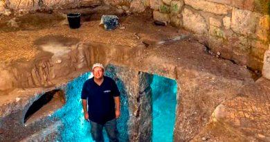 Descubren un complejo subterráneo de hace 2,000 años en Jerusalén