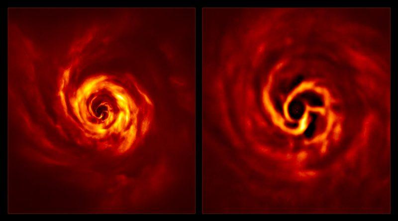 Observan por primera vez el nacimiento de un planeta