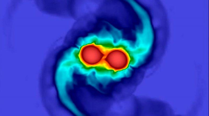 Nuevo modelo de ondas gravitacionales ilumina las estrellas de neutrones