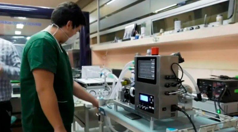 VSZ-20, el ventilador mexicano listo para atender casos de Covid-19