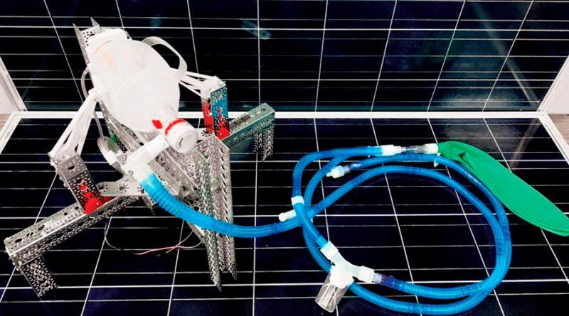 Crean tecnólogos mexicanos ventilador pulmonar mecánico