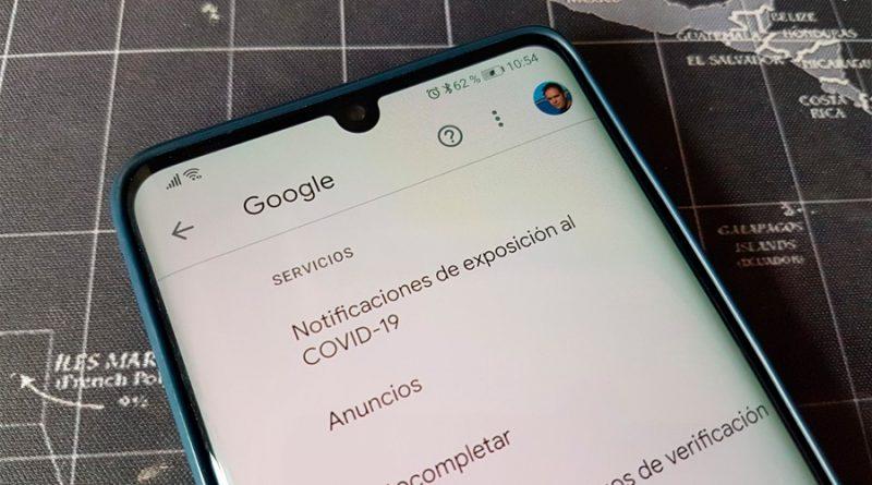 """Nadie te espía: Que tu móvil muestre ya una opción de """"notificación de exposiciones al Covid-19"""" es normal"""