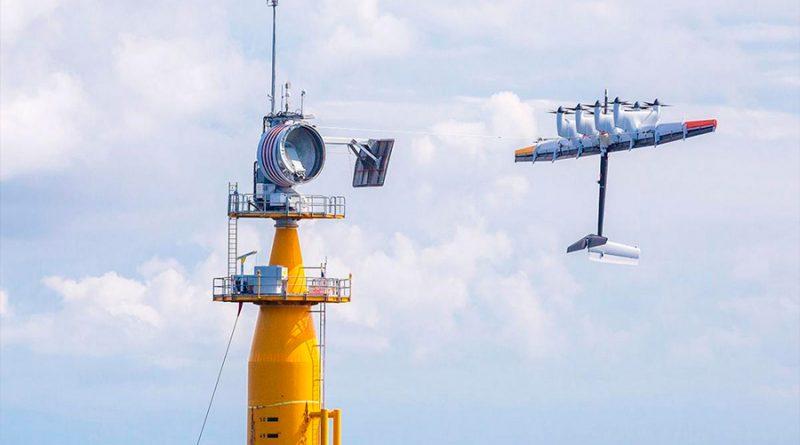 Makani, la cometa de 26 metros que captura electricidad para abastecer 300 hogares