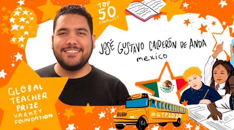 Gustavo Calderón, el mexicano nominado al Global Teacher Prize (el Nobel de Educación)