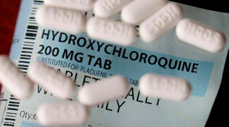 Se retractan autores de un estudio sobre hidroxicloroquina