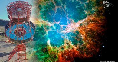 Equipo de UNAM participó en detección de rayos gamma de Nebulosa del Cangrejo