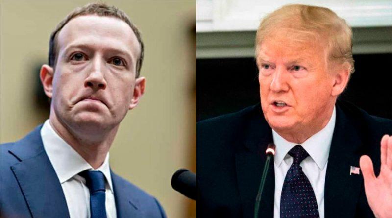 Científicos señalan que Facebook debería reprimir mensajes de Trump