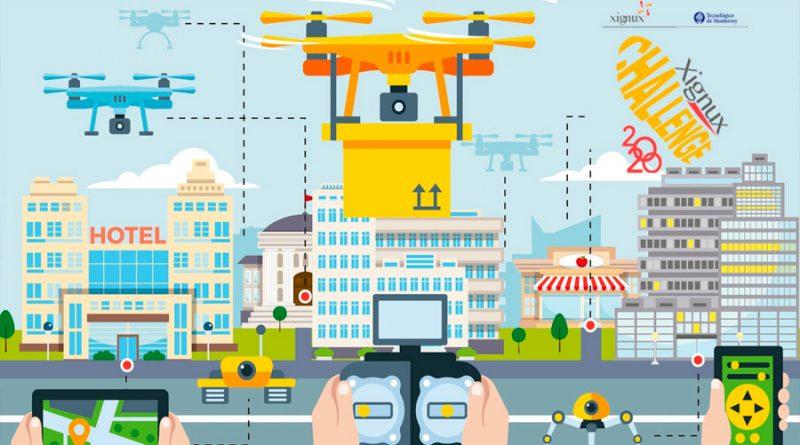 """Con drones y """"techos verdes"""", alumnos mexicanos buscan mejorar la calidad del aire"""