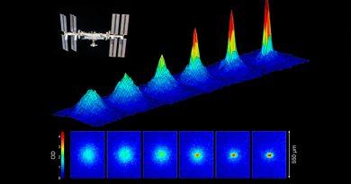 Generado el quinto estado de la materia en el espacio