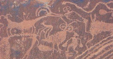 México registra petroglifo usado como 'piedra-mapa' hace unos 2000 años