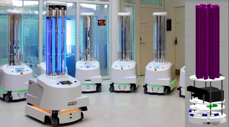 Desarrollan robot mexicano para desinfectar hospitales a través de luz UV [VIDEO]