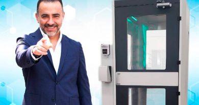 Crean ingenieros mexicanos cabina sanitizante