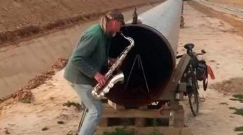 De la música con ductos de combustibles fósiles