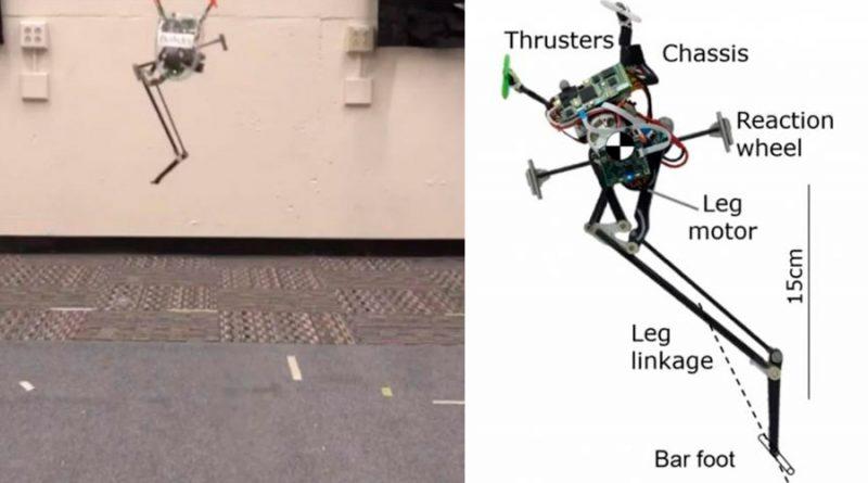 Este robot puede ejecutar saltos largos y con precisión