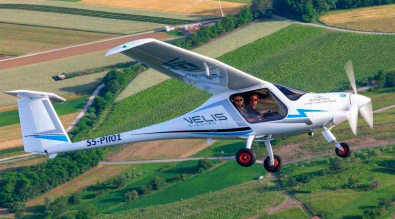 Así es el primer avión ecológico totalmente eléctrico que tiene licencia en Europa