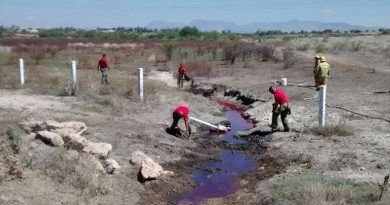 Contaminación de agua por tomas clandestinas de hidrocarburos