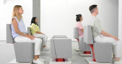 Estos son los primeros muebles sensibles diseñados para las naves espaciales