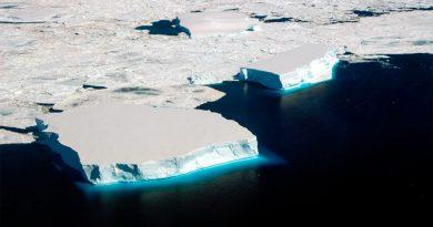 Resuelven el misterio del descenso récord del hielo marino de la Antártida