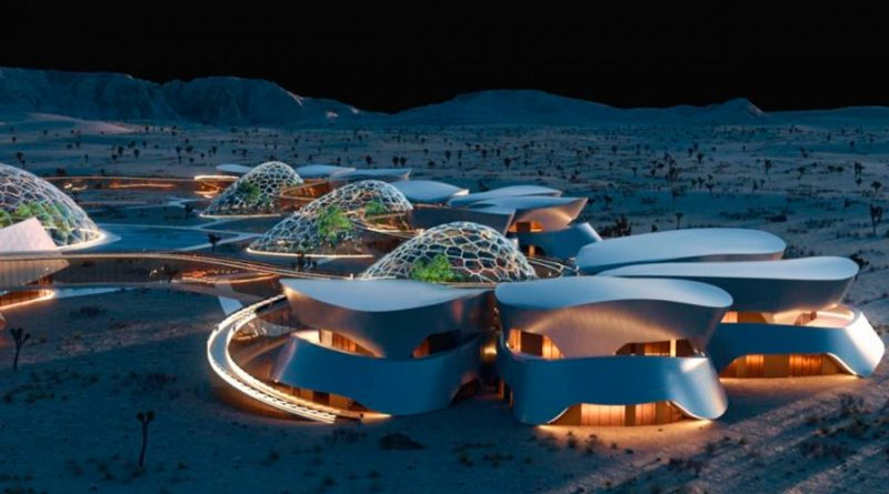 ¿Un pueblo marciano sostenible en California? Así es la idea de Interstellar Lab