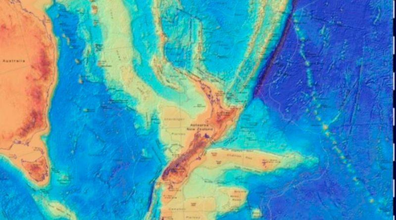 Científicos cartografían por primera vez el continente hundido de Zelandia