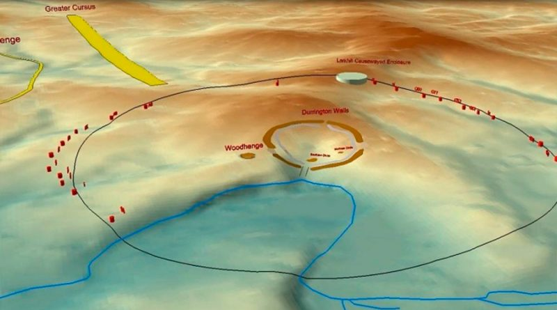 Descubren nuevo círculo de monolitos de piedra cerca de Stonehenge