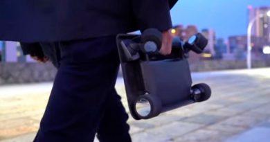 El patinete eléctrico más pequeño se lanza en Japón: el motor va en una rueda