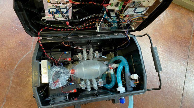 Primer ventilador desarrollado en la UNAM, listo para la emergencia sanitaria