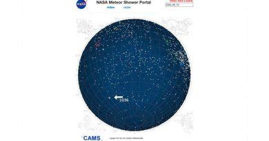 Descubren nueva lluvia de meteoros con origen en un cometa desconocido