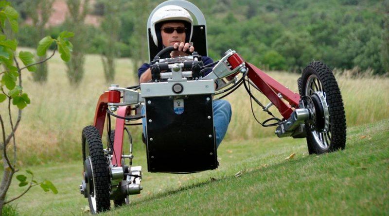 Swincar E-Spider, el coche araña eléctrico todoterreno