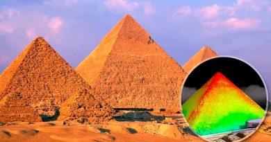 """Descubren que la Gran Pirámide de Guiza es un enorme """"condensador"""" de energía electromagnética"""
