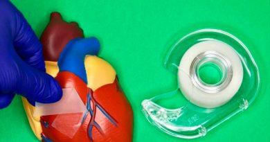 Crean una cinta adhesiva quirúrgica súper resistente