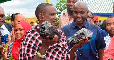 Humilde minero se hace millonario al vender los dos trozos más grandes de piedra preciosa tanzanita: 3.3 millones de dólares