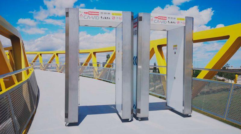 Un túnel que desactiva el Covid-19 eficaz y seguro, creado por la empresa española Epitécnica