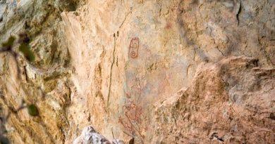 Último terremoto descubre pinturas rupestres al sur de México