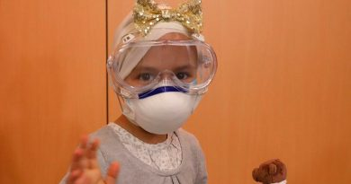 Una niña de 6 años, curada de un tumor cerebral agresivo mediante protones