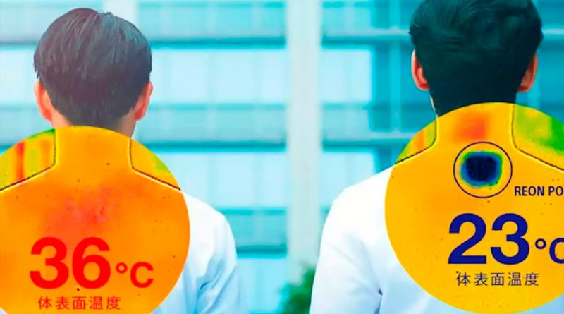 Sony vende un aire acondicionado para llevar dentro de la ropa y combatir el calor en la calle