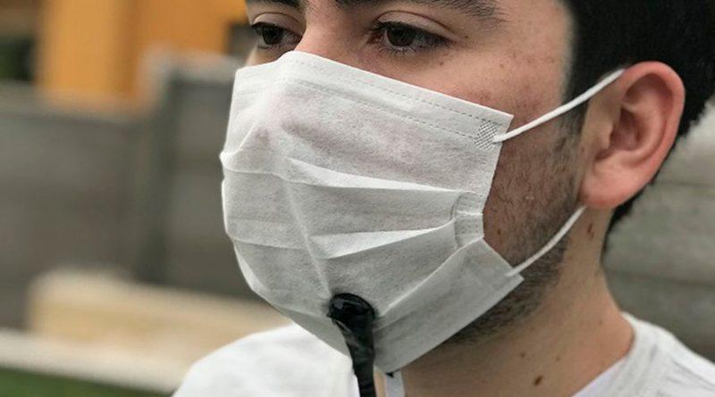 Presentan chilenos prototipo de mascarilla que amplifica la voz: está pensado para trabajadores esenciales