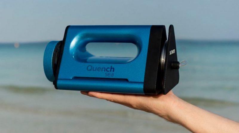Aparato lowcost de 50 euros convierte el agua de mar en potable