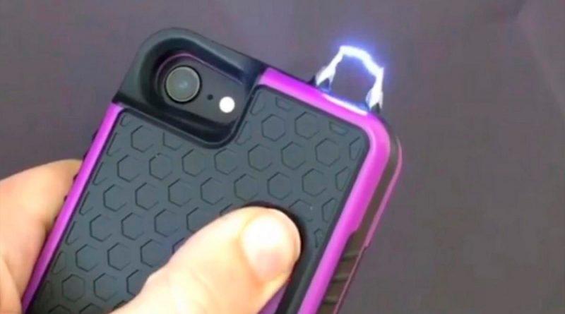 Esta funda produce una descarga eléctrica aturdidora si intentan robarte el móvil o te atacan