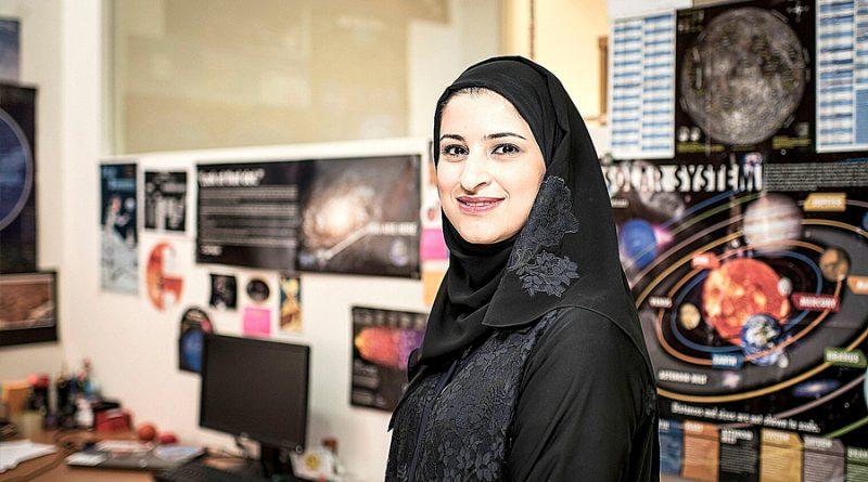 La mujer que quiere llevar al mundo árabe a Marte