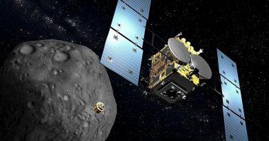 Hayabusa-2 regresará a la Tierra con muestras del asteroide Ryugu