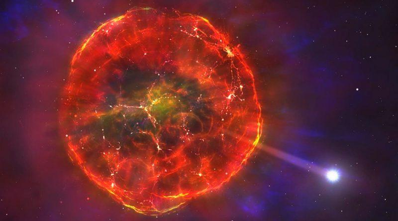 Esta estrella viaja ahora a 900 mil km/h por nuestra galaxia debido a una explosión termonuclear