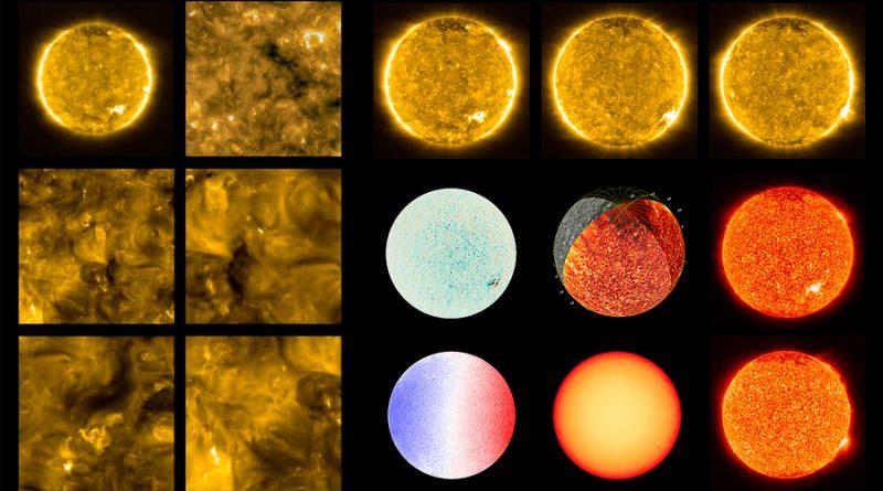 Primeras imágenes del Solar Orbiter revelan pequeñas fogatas en la superficie del Sol