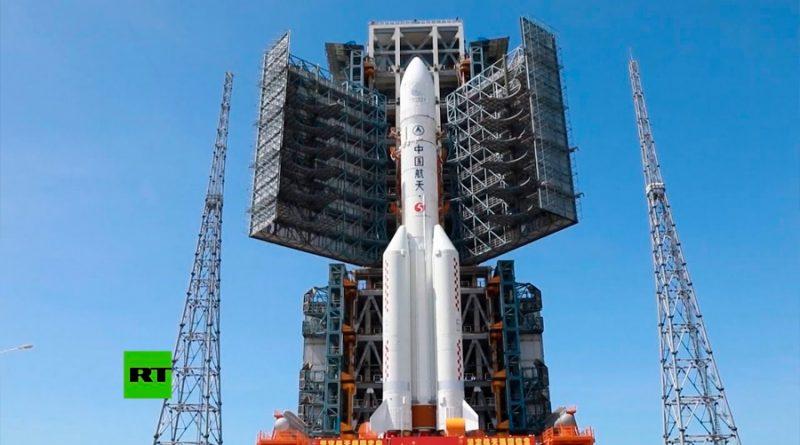 China prepara lanzamiento de cohete Gran Marcha-5 para misión a Marte