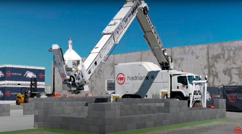Hadrian X, el robot listo para revolucionar el sector de la construcción