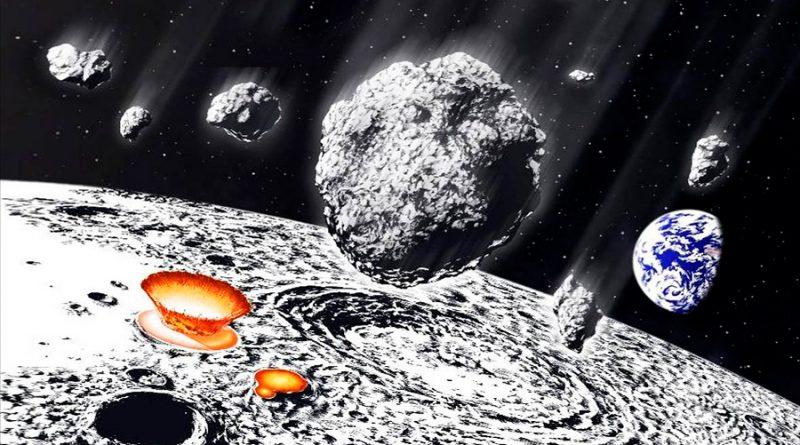 Los cráteres de la Luna revelan una lluvia de asteroides hace 800 millones de años