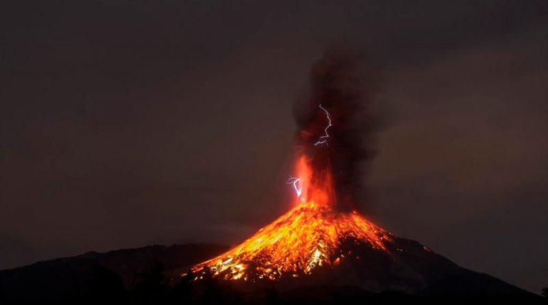 Crean científicos sistema de alerta temprana de erupción volcánica