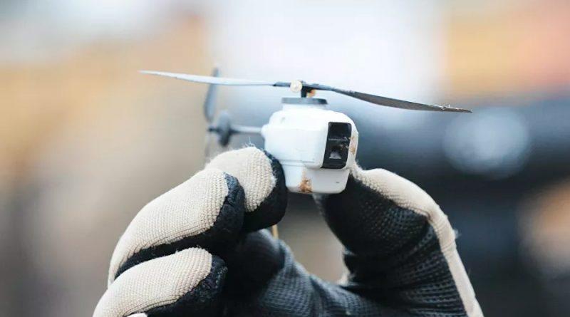 Capturan en Siria un dron microscópico