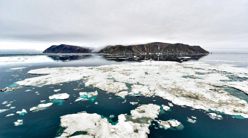 Adolescentes rusos descubren una nueva isla en el Ártico