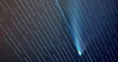 Los satélites de Elon Musk arruinan la fotografía perfecta del cometa